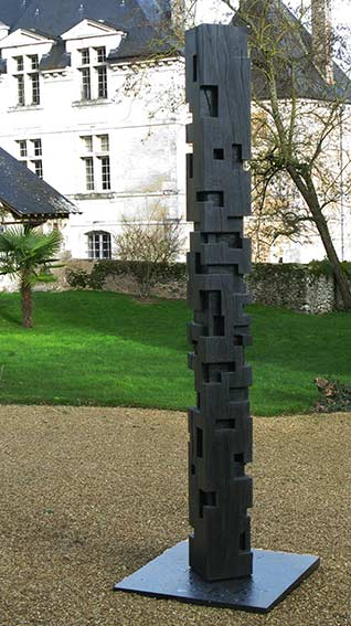 Alban Lanore  Sculptures Contemporaines  Totem  Colonne